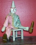 Schoenhut Clown with Chair
