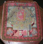 19th C. Handwork Needlepoint  Bag