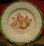 Staffordshire Child's Plate