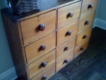 American Pine Apothecary Chest