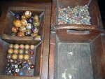 Handmade Vintage Bennington and Clay Marbles