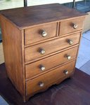 Miniature Child's Toy Chest of Drawers