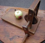 Early American Wooden Apple Peeler