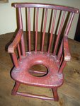 American Windsor Child's Potty Chair