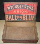 Wyckoff & Co's Union Ball Blue Box