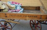 Hoosier Coaster Child's Wooden Wagon