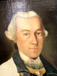 Portrait of Lieutenant Wilcke by JMVogel, 1767