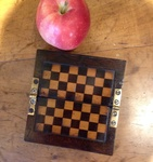 Miniature checkers