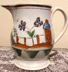 Early Creamware Cream Pot