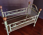 Brass and Iron Doll Bed