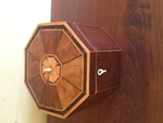 Octagonal Inlaid Sewing Box