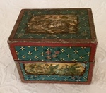 Decorated Valuables Box