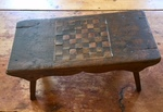 Checkerboard on Footstool