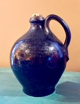 Small Redware Ovoid Jug