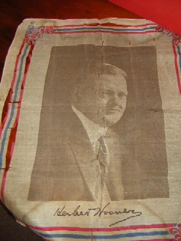 Herbert Hoover, poor condition, $20.00