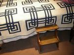 Gordian Knot Blue/White quilt