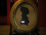 Oval Silhouette of a Lady, 19th century