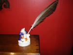 Staffordshire JohnBull Quill Holder
