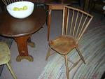 Set of 4 Diminutive American  Windsor Chairs