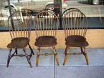Bow Back Windsor Chairs