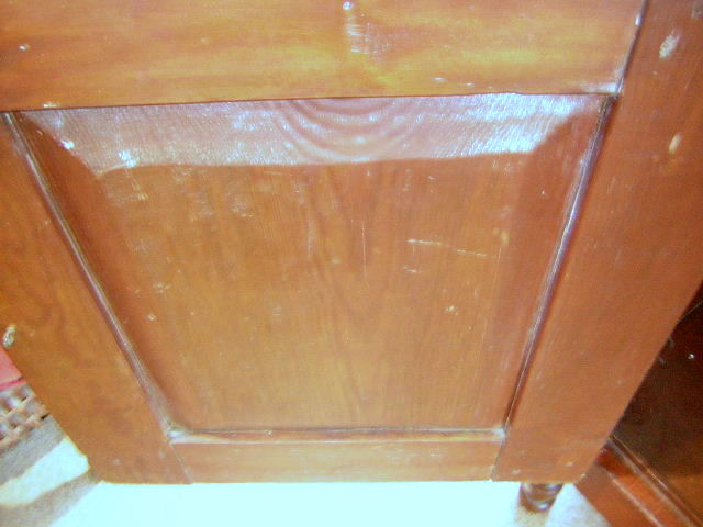 Inside of Paneled Door