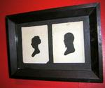 Double Silhouette, man and woman, Peale ?