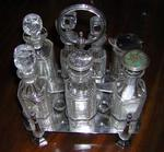 Elkington Silverplate Cruet Set